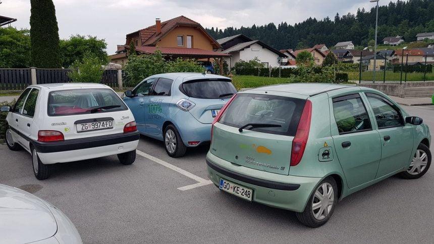 3. mednarodno srečanje društva za električna vozila Slovenije na Vrhniki