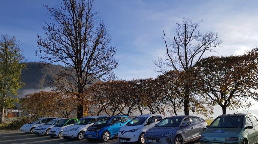 Učinkovitost regeneracije električnih vozil
