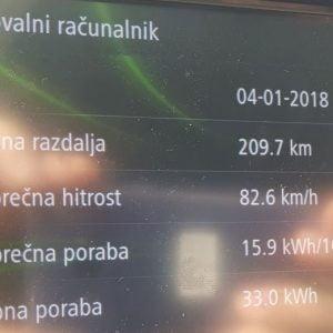 Ljubljana – Koper – Ljubljana z električnim vozilom