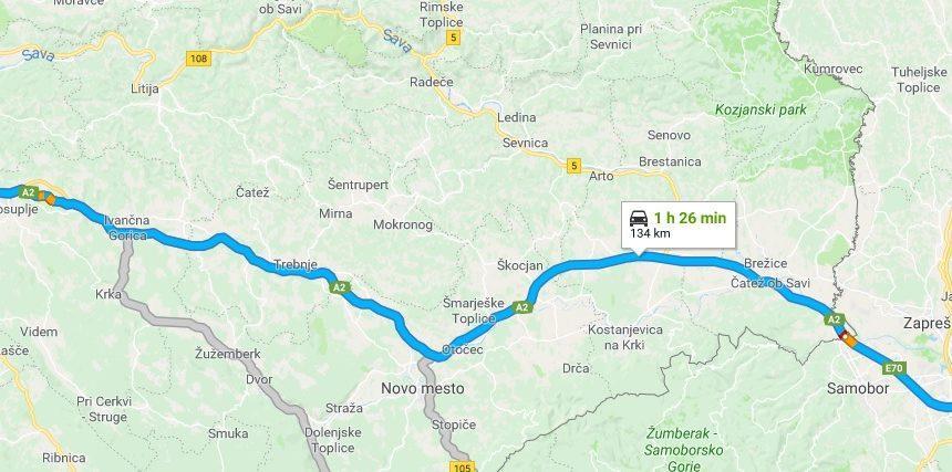 Brez stroškov goriva od Ljubljane do Zagreba in nazaj