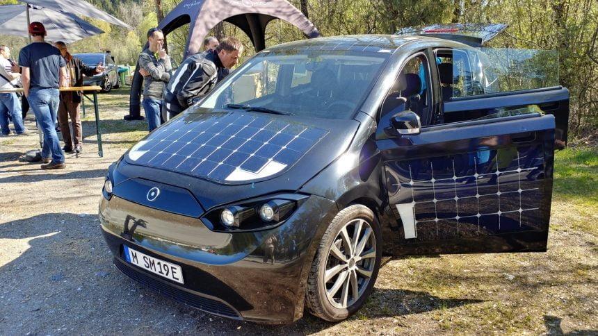Test EV Sion (Sono Motors)