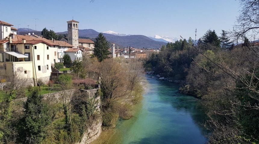 Otvoritev polnilne postaje v Čedadu /  Cividale del Friuli