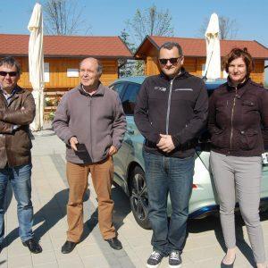 Od Lendave do Kopra z električnim vozilom