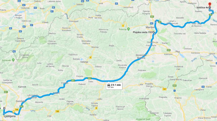 Ioniq EV 435 kilometrov + 120km hypermiling test