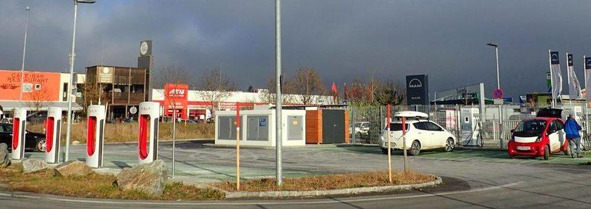 Po prvo pomoč za električna vozila na Petrol/OMV