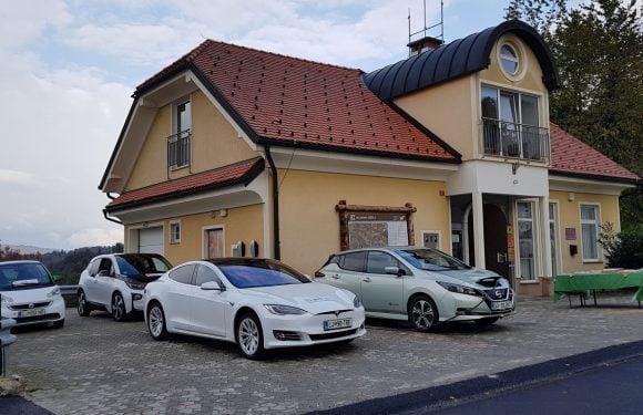 Širjenje polnilne infrastrukture v Sloveniji