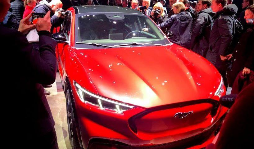 Ford Mustang Mach-E, sedaj 100% električen