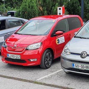 Test porabe VW e-UP in Škode CitiGo iV ter HYUNDAI Ioniq