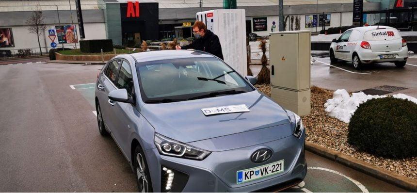 Misterija abnormalno hitrega DC polnjenja na vozilu Hyundai IONIQ 28 kWh