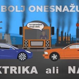 Kaj bolj onesnažuje? ELEKTRIKA ali NAFTA?