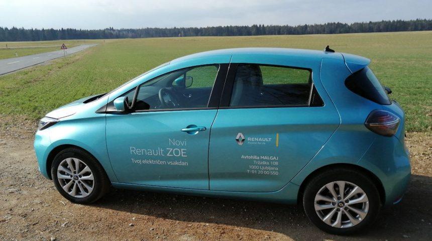 Lepotica v novi preobleki – Renault Zoe ZE50