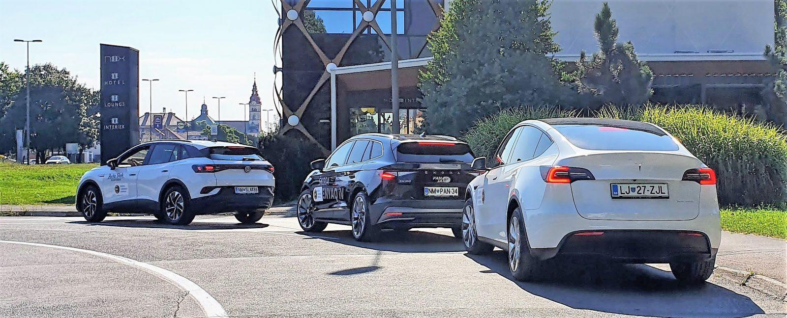 Tesla Y ali Volkawagen ID.4 ali Škoda Enyaq iV